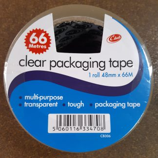 Parcel Tape Clear Front