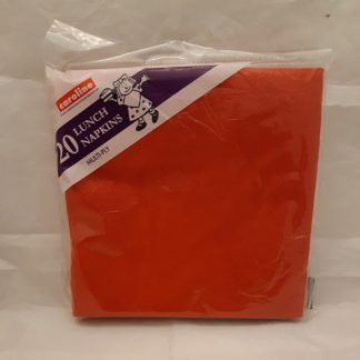 Red Lunch Napkin